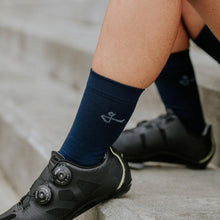 Load image into Gallery viewer, Givelo Unisex Navy Socks Socks Givelo