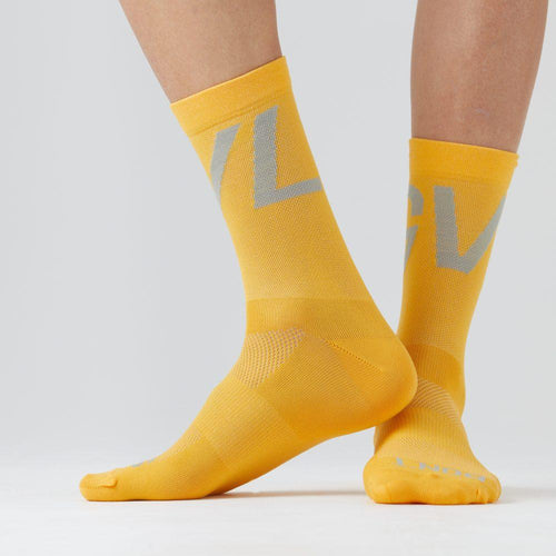 Givelo Unisex Yellow Socks Socks Givelo