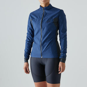 Givelo Womens Blue Quick Free Wind Jacket Jackets Givelo