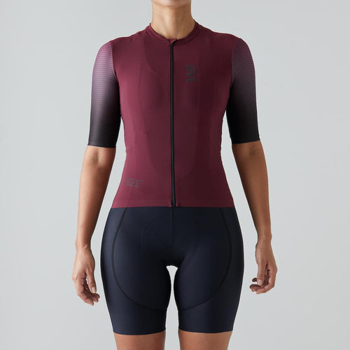 Givelo Womens Burgundy Concept 2021 Jersey Jerseys Givelo