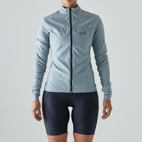 Givelo Womens Gray Quick Free Wind Jacket Jackets Givelo