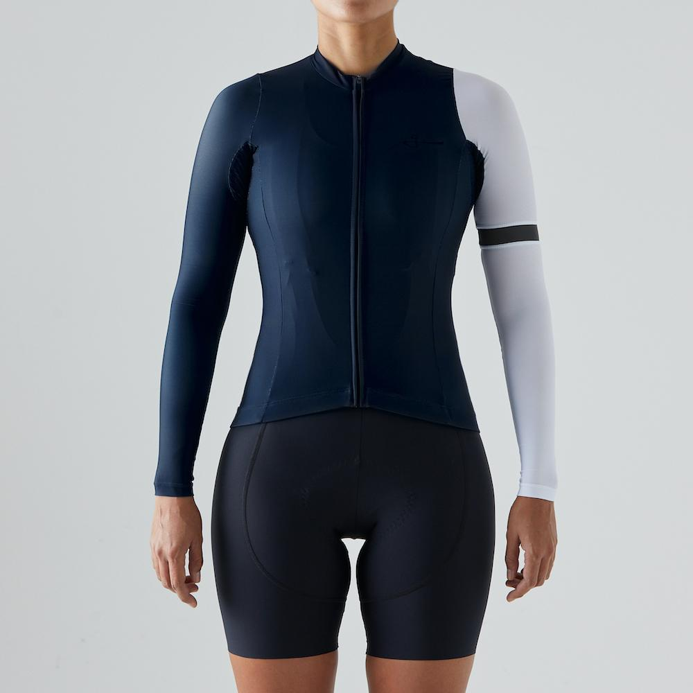 Givelo Womens Pacific G.90 2021 Long Sleeve Jersey Long Sleeve Jerseys Givelo