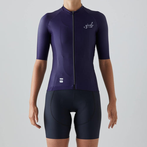 Givelo Womens Purple Essentials Aero 2021 Jersey Jerseys Givelo