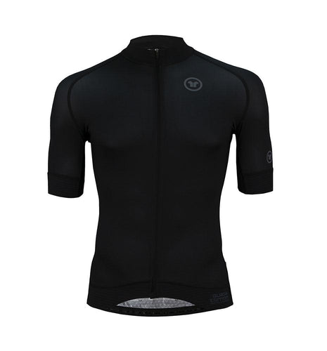 Pacto Mens Black Carbon Short Sleeve Jersey Jerseys Pacto