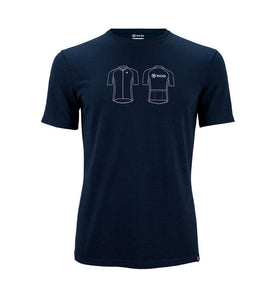 Pacto Mens Blue 100% Cotton Tee T-Shirts Pacto