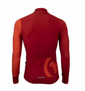 Pacto Mens Red Pro Team Long Sleeve Jersey Long Sleeve Jerseys Pacto