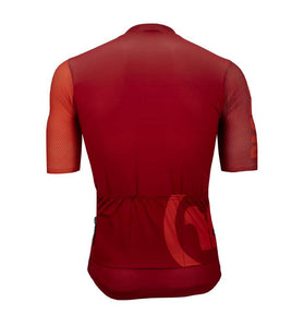 Pacto Mens Red Team Pro Short Sleeve Jersey Jerseys Pacto