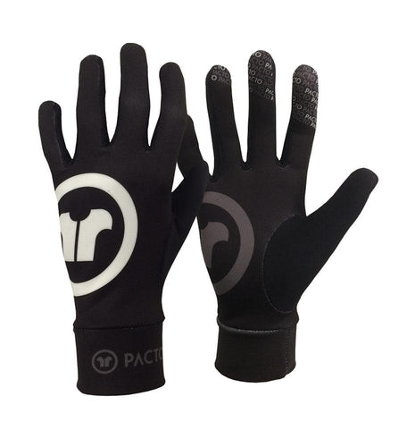 Pacto Unisex Black Spring Fit Gloves Gloves Pacto