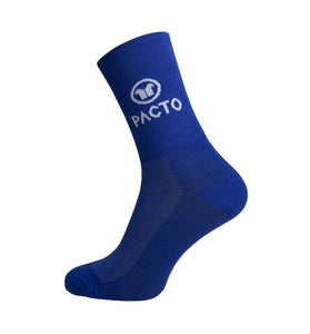 Pacto Unisex High Socks Socks Pacto Blue