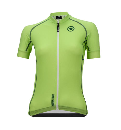 Pacto Womens Mint Green Laser Short Sleeve Jersey Jerseys Pacto