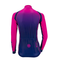Load image into Gallery viewer, Pacto Womens Senhora-Blue Laser Long Sleeve Jersey Long Sleeve Jerseys Pacto