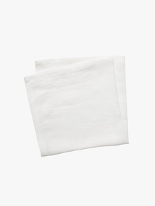 Moss Napkin Set - White