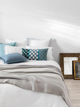 Load image into Gallery viewer, River White Duvet Cover Set