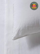 Load image into Gallery viewer, Mondo 100% French Linen Duvet Cover Set - White