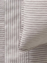 Load image into Gallery viewer, Mondo 100% French Linen Duvet Cover Set - Stripe