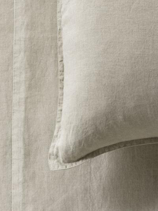 Mondo 100% French Linen Duvet Cover Set - Natural