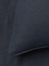 Load image into Gallery viewer, Mondo 100% French Linen Duvet Cover Set - Navy