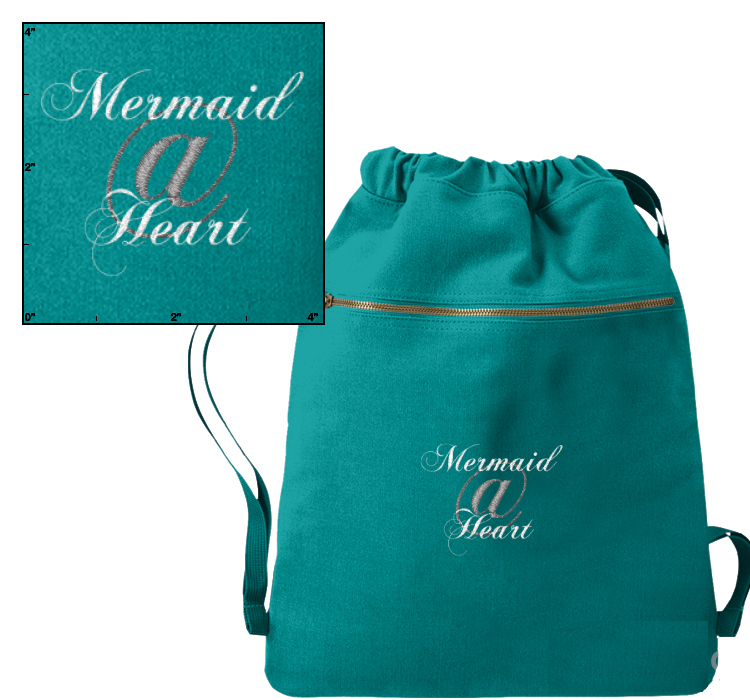 Mermaid@Heart™ Cinch Sack