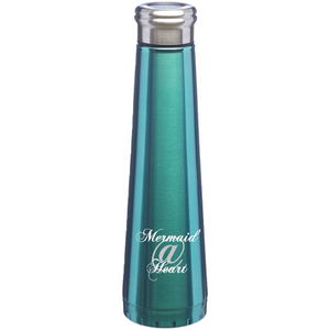Mermaid@Heart™ 16 oz insulated stainless steel water bottle
