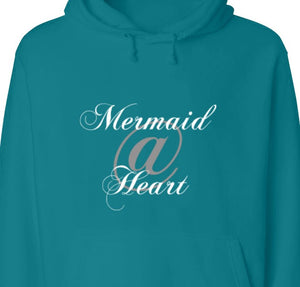 Mermaid@Heart™ Comfort Hooded Sweatshirt