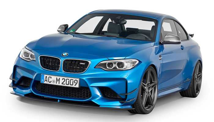 Front splitter sett M2 F87 Ikke for M2 Competition