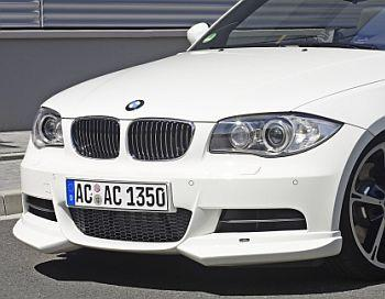 Front spoiler elements for cars with M-Technik with fog lights E82/E88