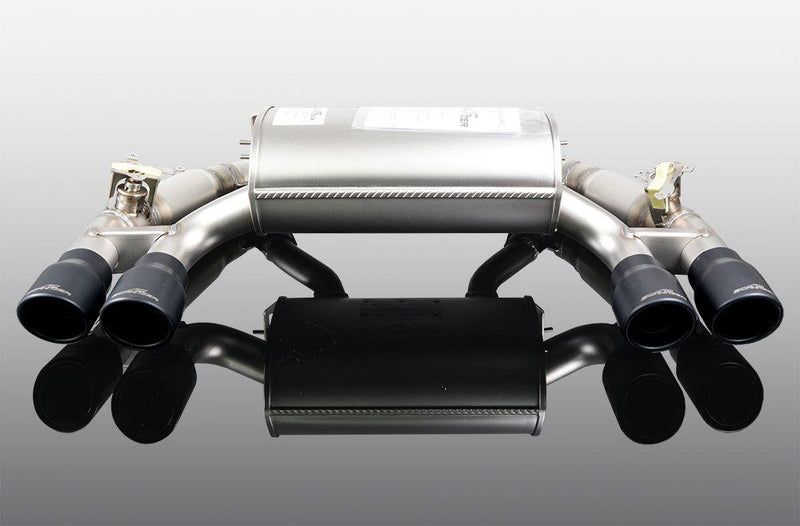 "AC Schnitzer Silencer ""Sport Black"" for M2 Competition"