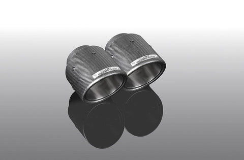 "Exhaust tailpipe set ""Carbon Sport"" G20/G21"
