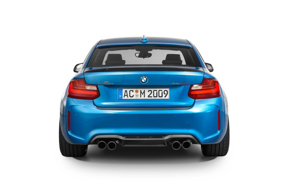 "Exhaust tailpipe ""Sport black"" M2 Competition"