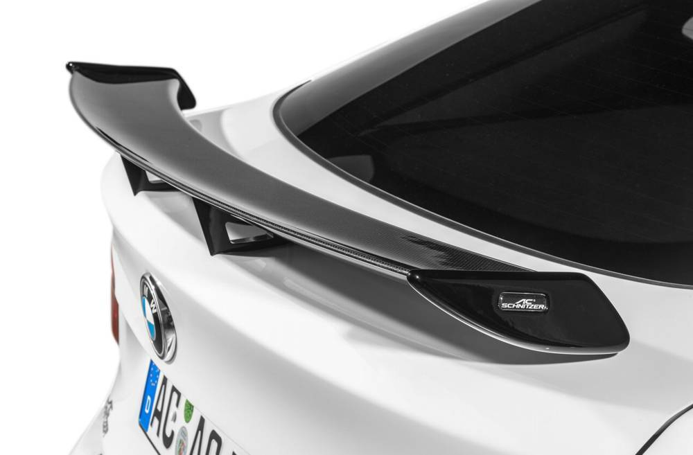 """Racing"" rear wing, carbon for Sedan"