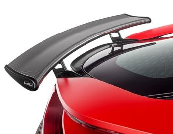 "Carbon ""Racing"" rear wing"