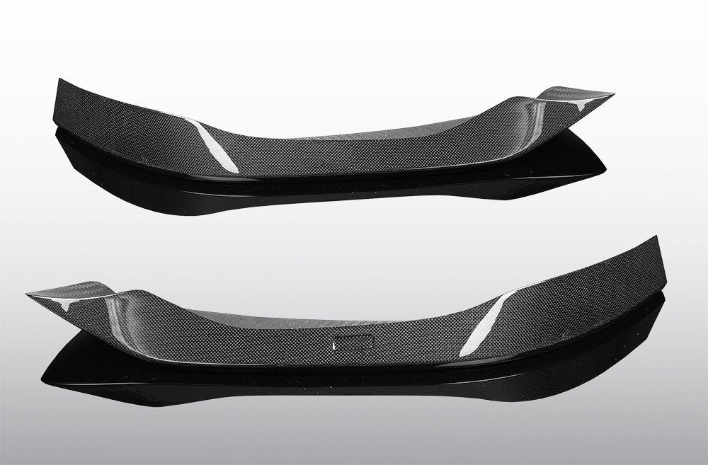 Carbon front spoiler elements for cars with M sport package