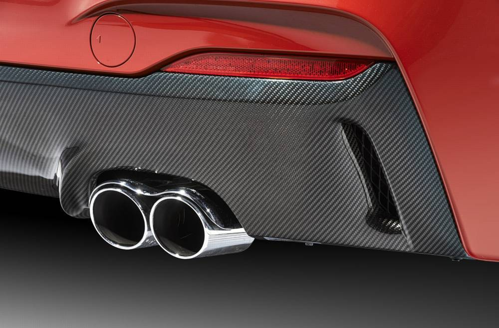 "exhaust tailpipe ""Racing Evo"" for 320d with engine B47, 325d, 330d for 320i with engine B48, 328i, 330i"
