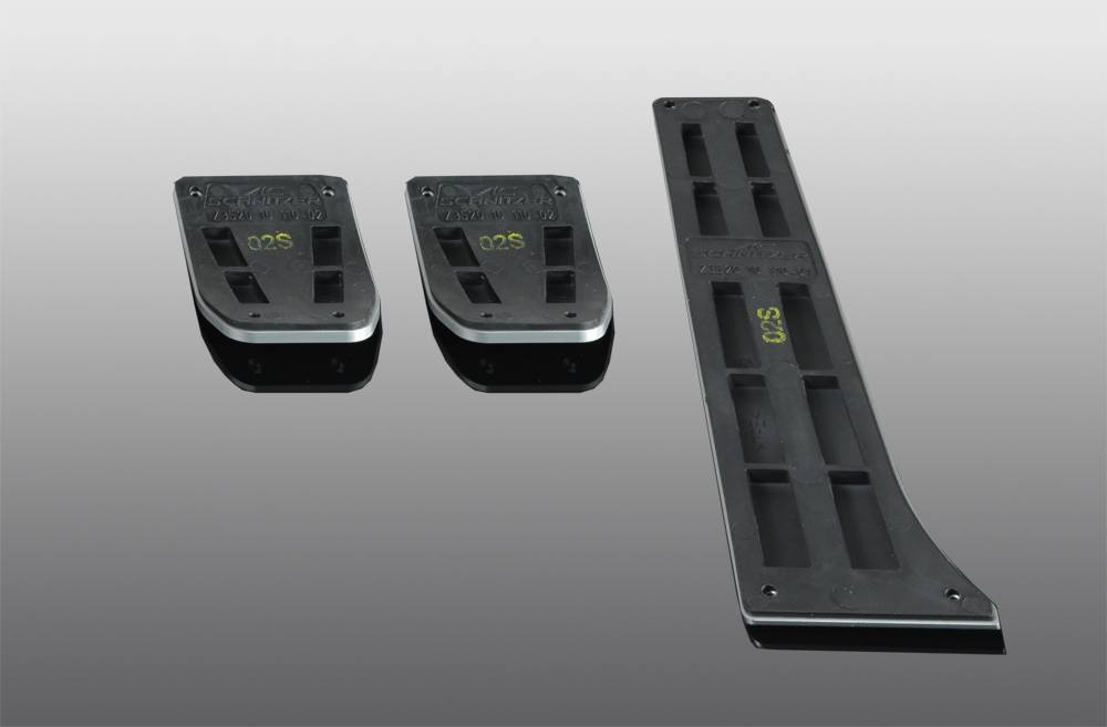 Aluminium pedal set for manual transmisson
