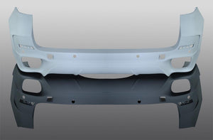 Rear skirt for cars without M-technic X5 F15