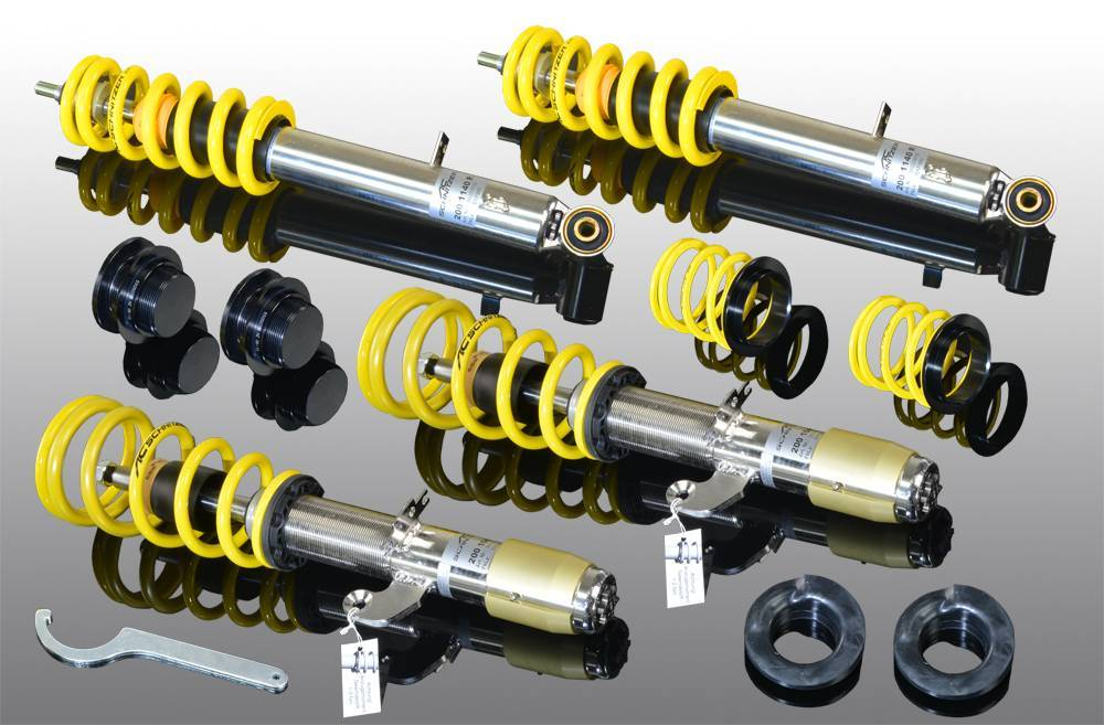 RS adjustable suspension M3 F80