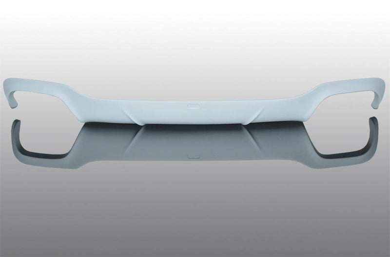 Rear skirt for cars until 02/15