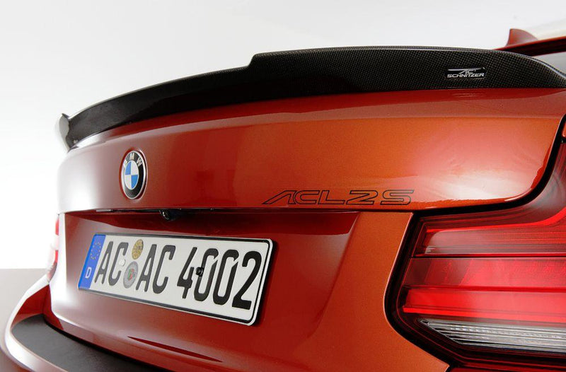 Carbon rear spoiler	 for M2 Competition