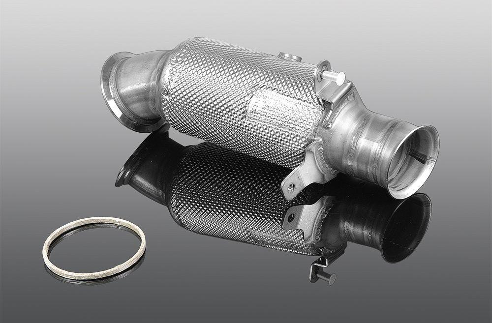 Down pipe with sports catalyst for M 235i with engine N55B30A from 07/13