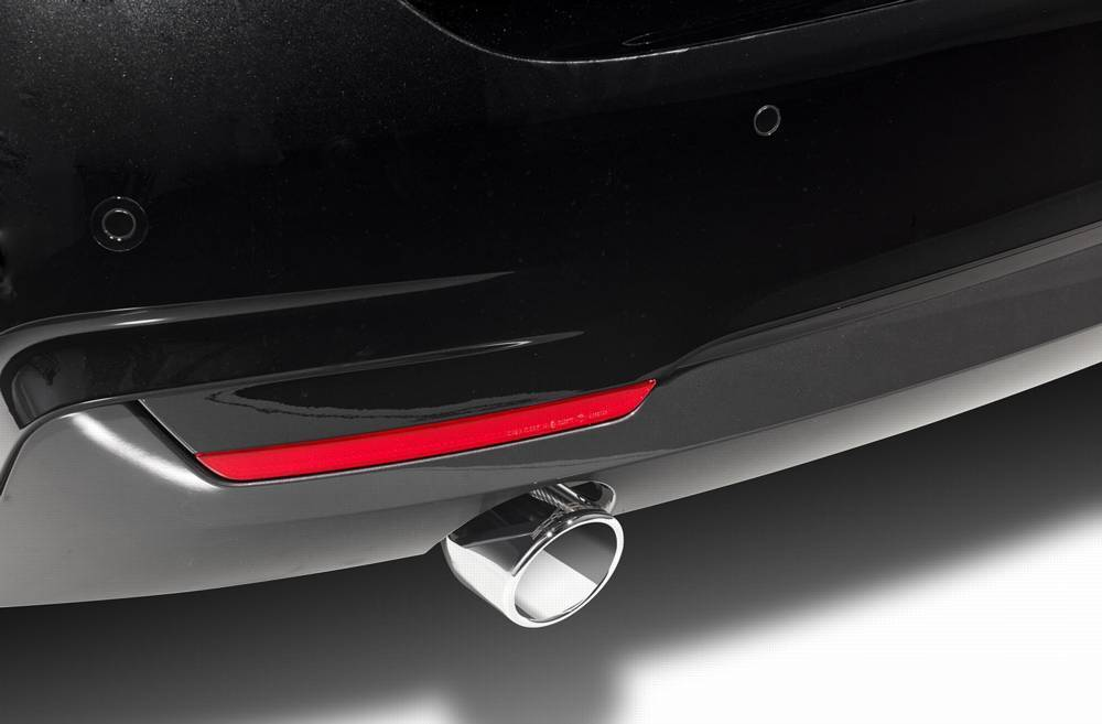 "Exhaust tailpipe ""Sport"" double flow for M235i, M235i xDrive"