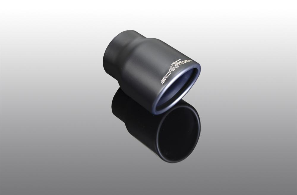 "Exhaust tailpipe ""Sport black"" for 318d, 320d for 318d, 320d with M technic"