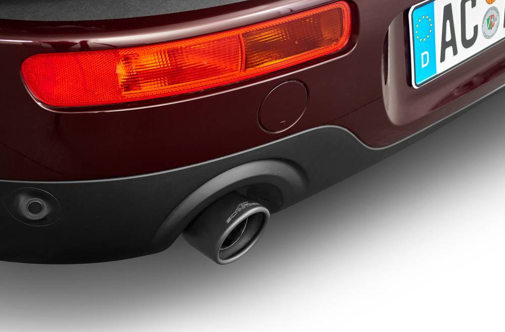 "Exhaust tailpipe ""Sport black"" for 318d with engine B47 320i, 320i xDrive"