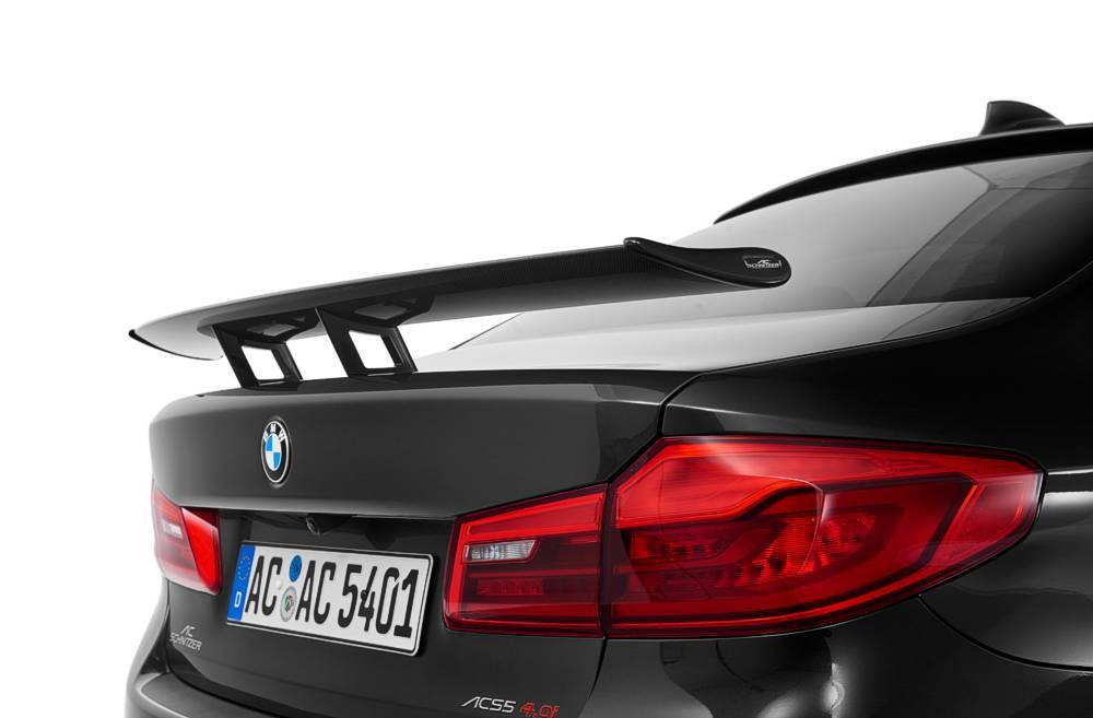 """Racing"" rear wing, carbon G30/G31"