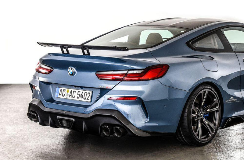 """Racing"" rear wing, carbon for Coupé G15"