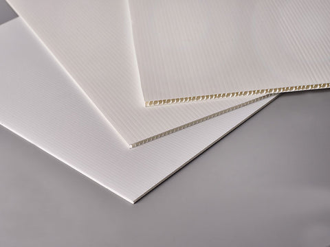 Fluted Polypropylene Board (archival grade)