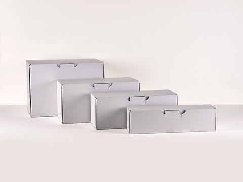 Corrugated blue/grey board Boxes