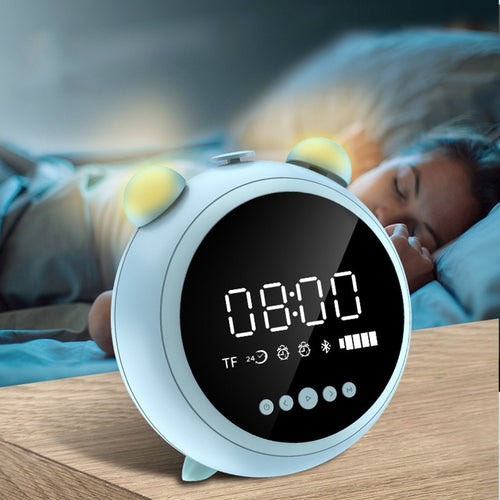 Night Light Fm Radio Wireless Alarm Clock