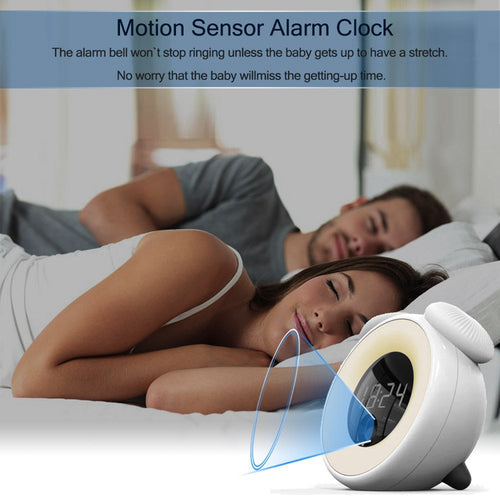 Rechargeable Digital Alarm Clock