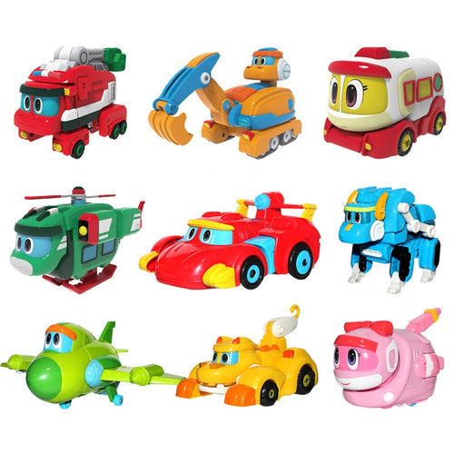 Mini Transformation Vehicles Toys