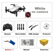 Load image into Gallery viewer, Foldable RC Mini Drone with Camera HD
